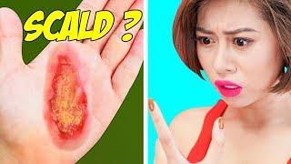 Girl DIY! 23 EMERGENCY LIFE HACKS FOR GIRLS! Smart Beauty Hacks & Beauty Tricks For Perfect Skin