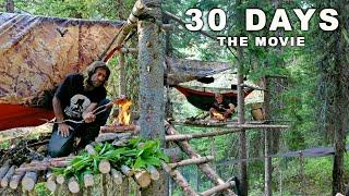 Ovens 30 Day Survival Challenge: THE MOVIE (Canadian Rockies)