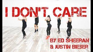 """""""I Don't Care"""" by Ed Sheeran & Justin Bieber - Dance Fitness With Jessica"""