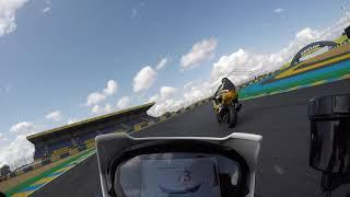 Le Mans - Triumph street triple 765 RS - First experience