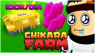 100K CHIKARA POR DIA?! COMO FARMAR CHIKARA ANIME FIGHTING SIMULATOR!