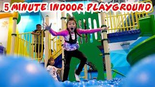 5 Crazy Minutes in an Indoor Playground - Real life family videos