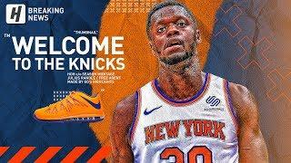 BREAKING: Julius Randle Signs with New York Knicks! BEST Highlights from 2018-19 NBA Season!