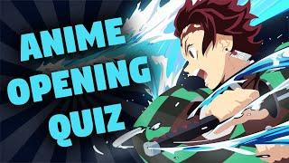 GUESS THE ANIME OPENING QUIZ CHALLENGE [VERY EASY - OTAKU]