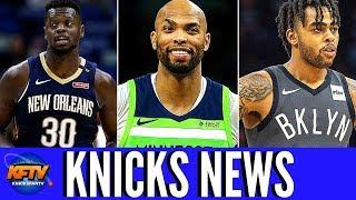 Knicks Free Agency News: Knicks Sign Julius Randle & Taj Gibson| D'angelo Russell To The Warriors!