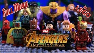 Avengers Infinity War - FULL MOVIE in LEGO