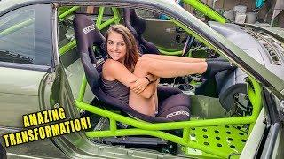 NEW INTERIOR REVEAL! SUPERCAR PORSCHE GREEN CAGE! *UNBELIEVABLE TRANSFORMATION*
