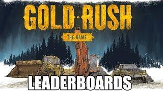 GOLD RUSH THE GAME LEADERBOARDS UPDATE  IS HERE