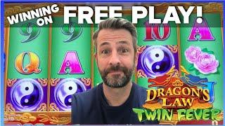 I WON SOME $$ USING MY FREE PLAY AT THE M RESORT IN VEGAS!