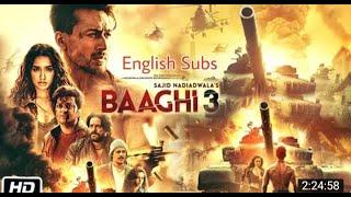 बाघी 3 # TIGER SHROFF # BAAGHI 3 # NEW MOVIE 2020 , SHRADHA KAPOOR #  Action Movie , FULL HD 1080P