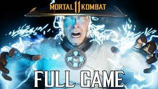 MORTAL KOMBAT 11 - Full Story Walkthrough (All Cutscenes Movie) PS4 Pro @ 1080p (60ᶠᵖˢ) ✔