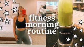 fitness morning routine 2019: my workout + health & fitness essentials