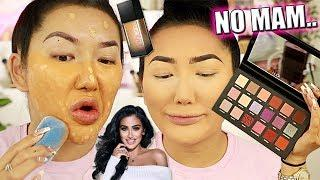 FULL FACE TESTING $450 WORTH OF HUDA BEAUTY PRODUCTS… yikes