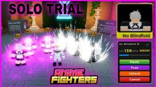 I Reached Level 138 And Solo Trial 71 Room In Anime Fighters Simulator