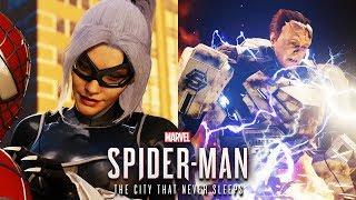 Spider Man PS4 SILVER LINING All Cutscenes Movie (Game Movie)