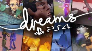 Anime Fans are Creating AMAZING Anime Games on 'Dreams PS4'
