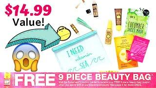 FREE 9 Piece Beauty Bag at CVS! $14.99 Value! Breakdowns to SAVE BIG!