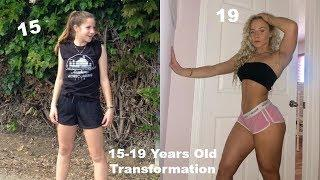 15-19 Years Old Fitness Transformation