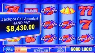 MAX BET HIGH LIMIT JACKPOTS! ★ QUICK HIT FEVER WILD RED ★ MOST HANDPAYS IN 1 SESSION!! ★