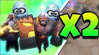 WOW!!! DOUBLE GOD is AMAZING in AUTO CHESS MOBILE
