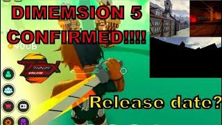 DIMENSION 5 CONFIRMED|AOT in Roblox Anime Fighting Simulator