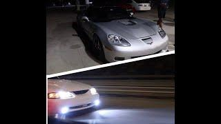 1,100HP CARS MEETS SAN ANTONIO CAR MEET!ILLEGAL STREET RACING!!