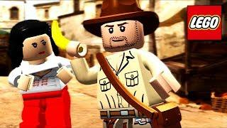 LEGO Raiders of the Lost Ark All Cutscenes (Game Movie) 1080p 60FPS