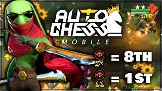 How To 'GOBLIN GAMBLE' (Win Games or Die Trying) | Claytano Auto Chess Mobile 104