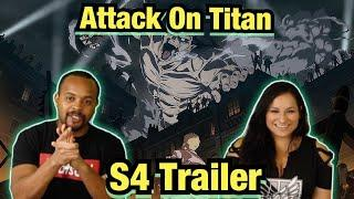Anime Of the Year!? Attack on Titan Season 4 Trailer Reaction