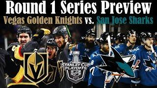 Series Preview - Vegas Golden Knights vs. San Jose Sharks