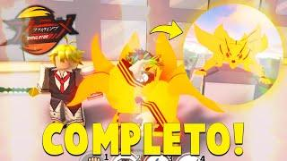COMPLETEI! *NOVO FIGHTING PASS 2!* DO ANIME FIGHTING SIMULATOR ROBLOX !! « Tigre »