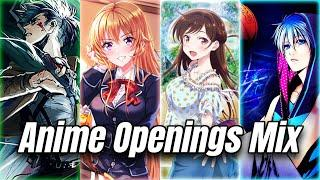 Best Anime Openings Mix #1 (Remake)