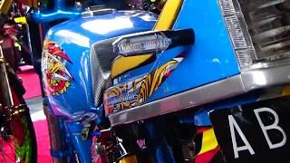 Modifikasi Honda GL Kontes Street Racing Style Drag Bike