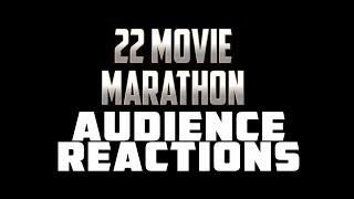 MCU 22 Movie Marathon Audience Reactions {SPOILERS} Endgame Included