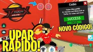 *NOVO CÓDIGO AMANHÃ!* ANIME FIGHTING SIMULATOR EVENTO 2X XP + COMO UPAR RÁPIDO! « Tigre »