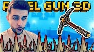 I CRAFTED THE LEGENDARY GOLD FEVER MELEE WEAPON AND IT'S INSANE!   Pixel Gun 3D