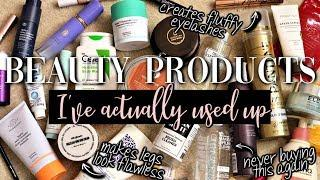BEAUTY STUFF I'VE ACTUALLY USED UP // Mini-Reviews