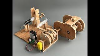 DIY how clutch works from plywood